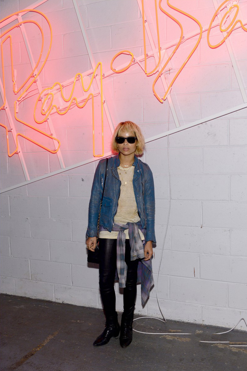 Zoe Kravitz attends Ray-Ban's one-night only event with District 1937