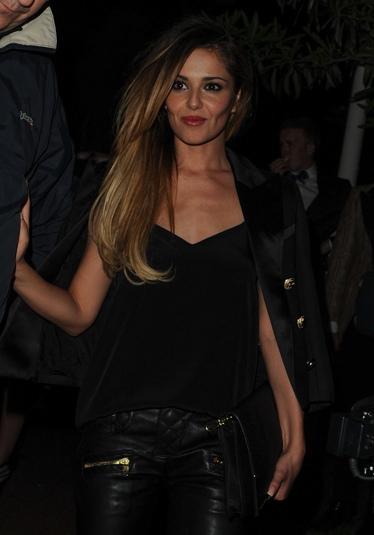 Cheryl Cole leaves Cosy Box in Cannes