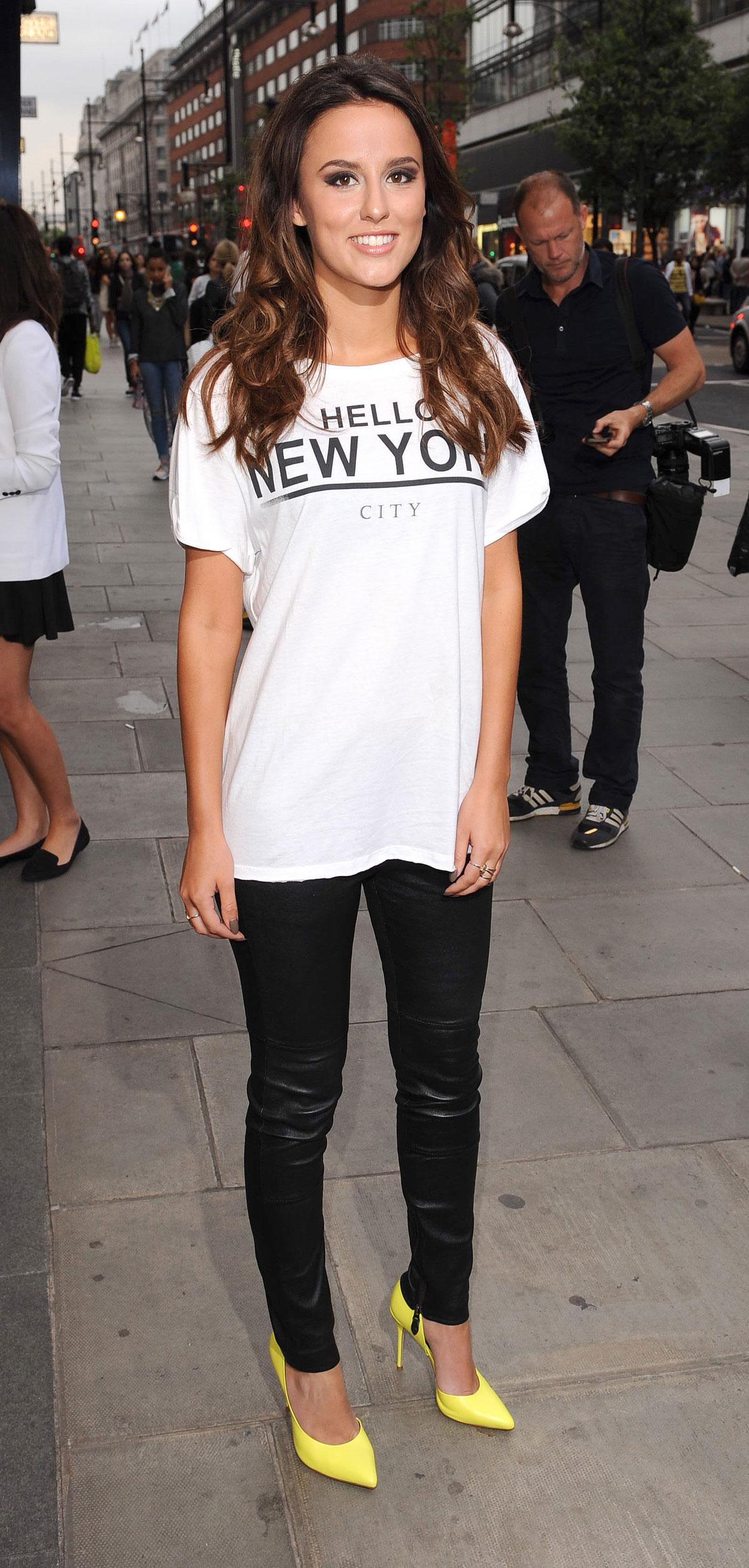 Lucy Watson attends Pandora MyRingsMyStyle launch