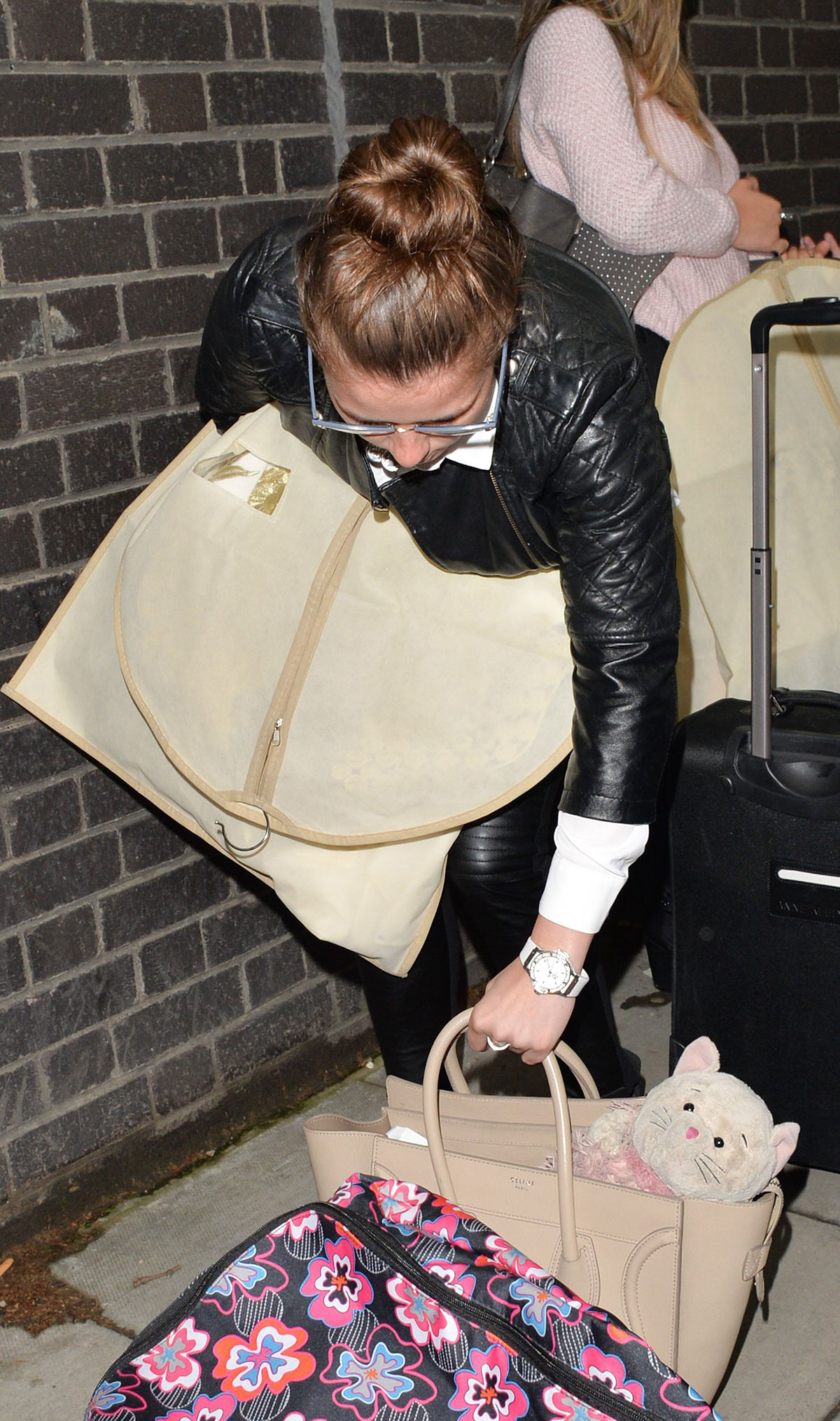 Brooke Vincent heading to London via Train from Manchester