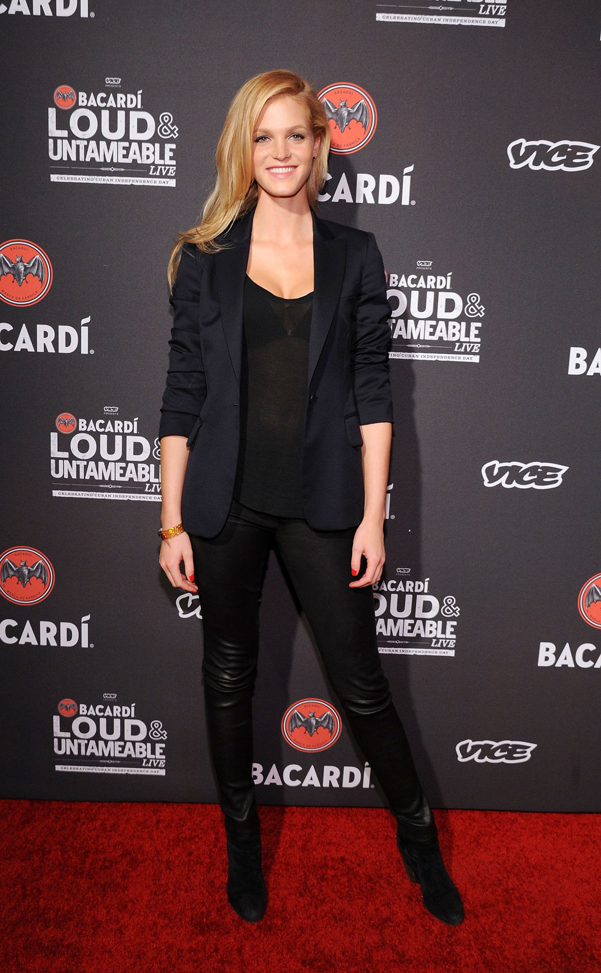 Erin Heatherton attends Cuban Independence Day Celebration