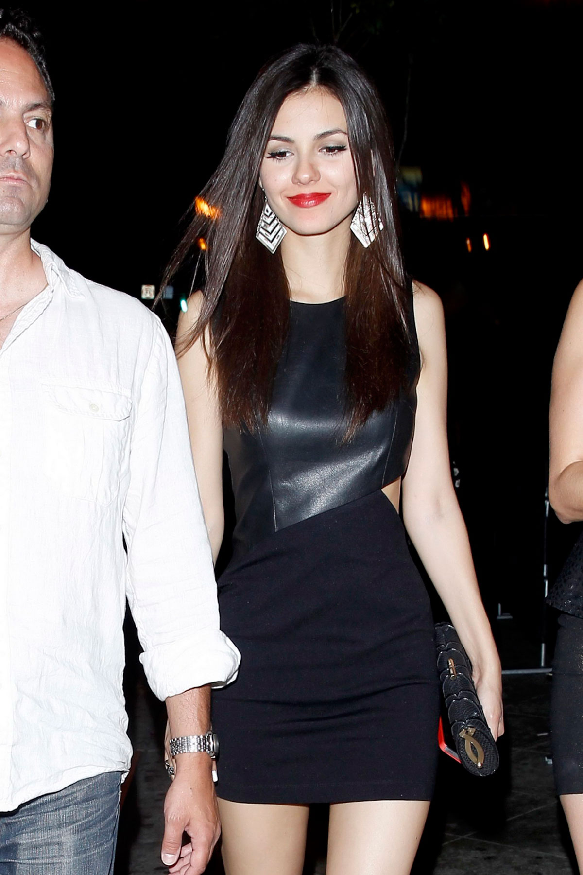Victoria Justice at 1OAK Nightclub West Hollywood