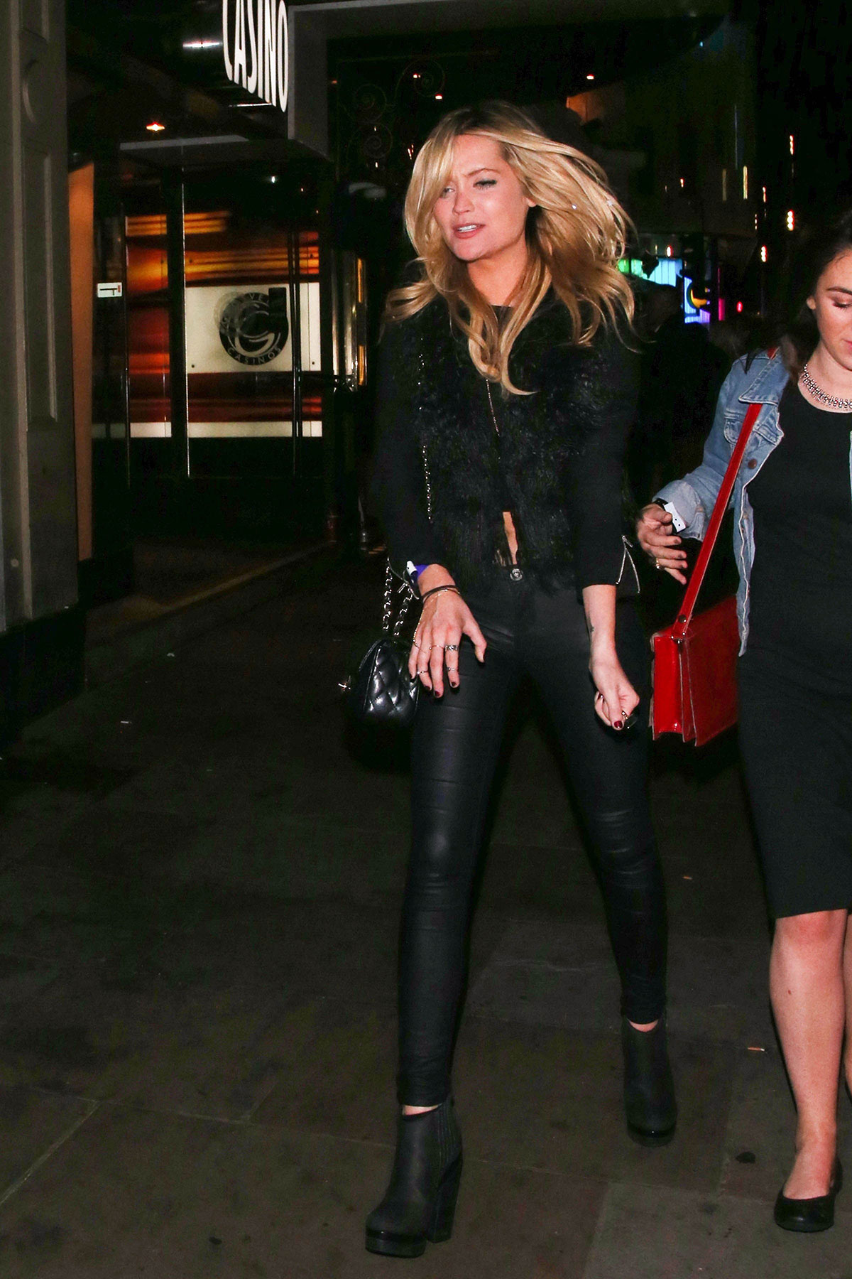 Laura Whitmore at Prince Gig Cafe De Paris