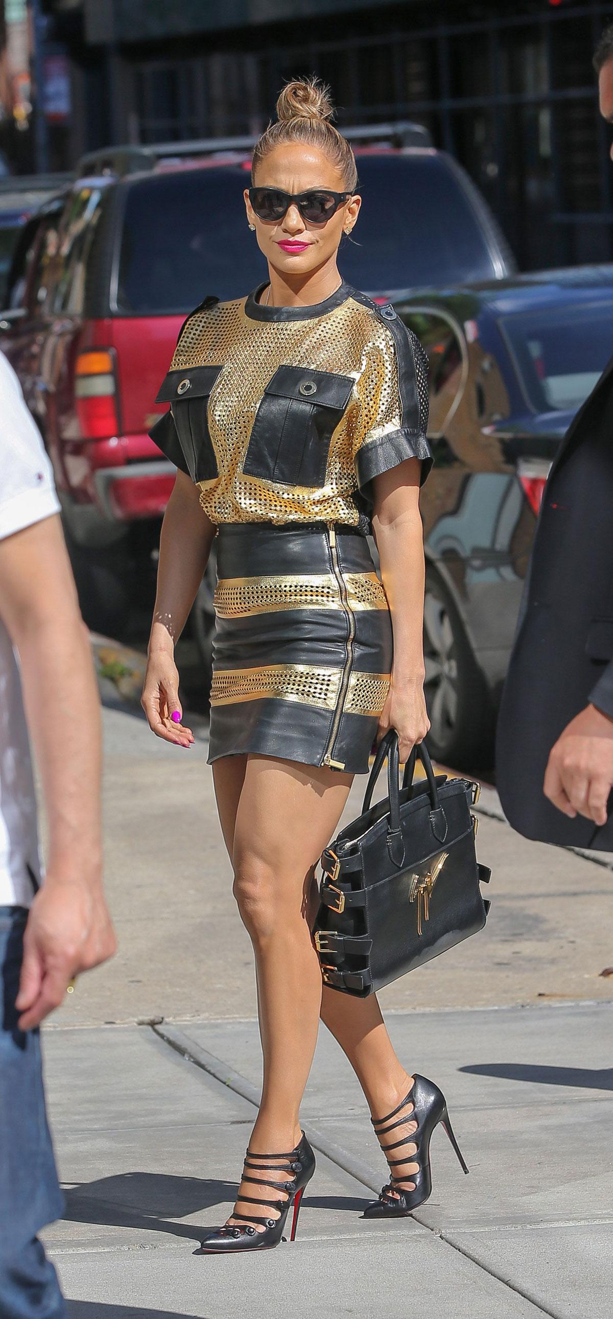 Jennifer Lopez out & about New York City