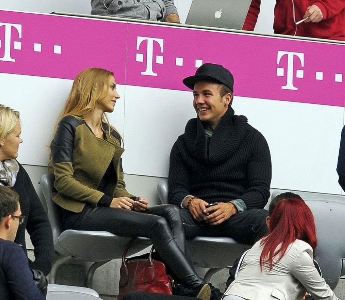 Ann-Kathrin Brommel at Bayern Munich vs Hannover