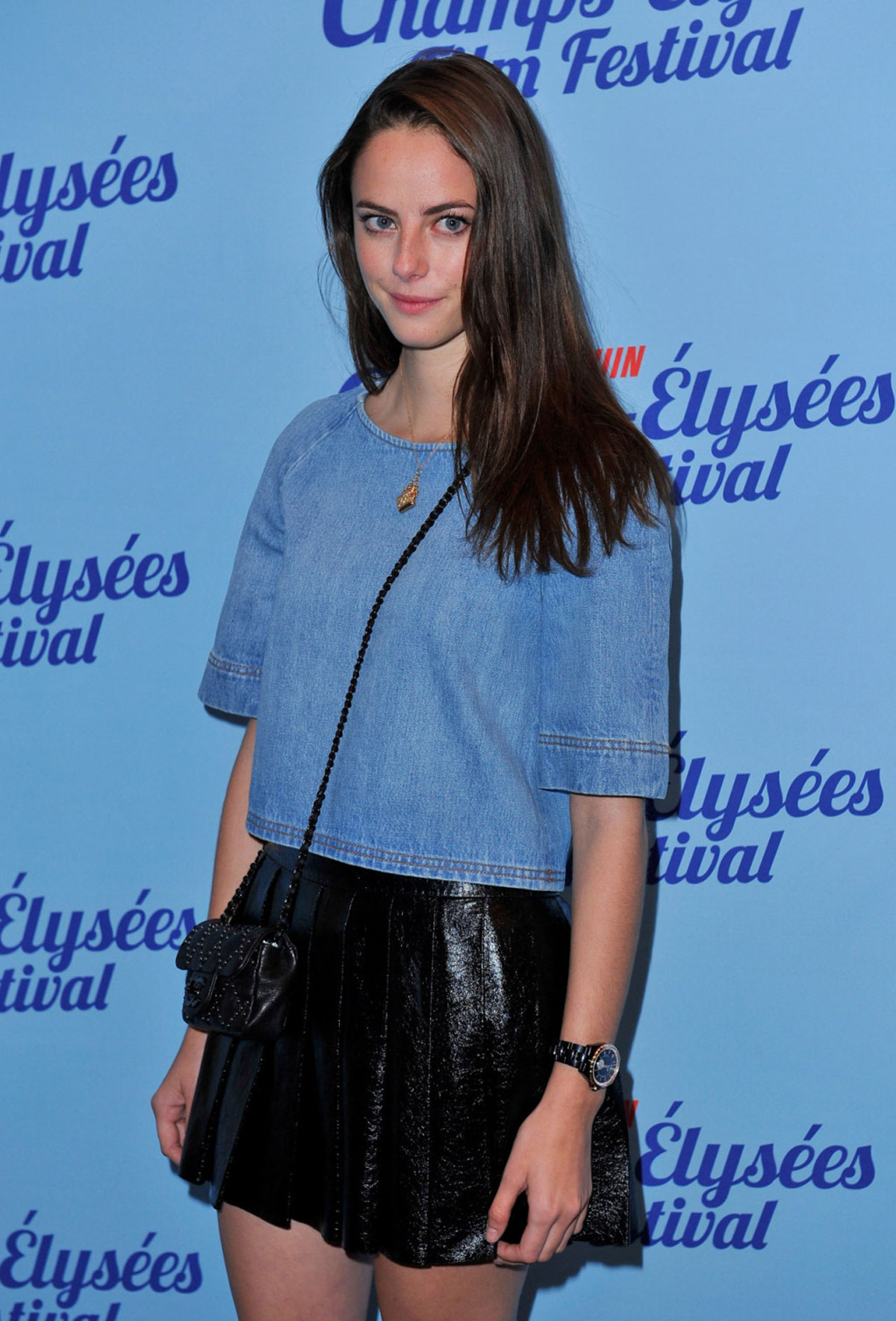Kaya Scodelario attends The Truth About Emanuel Premiere