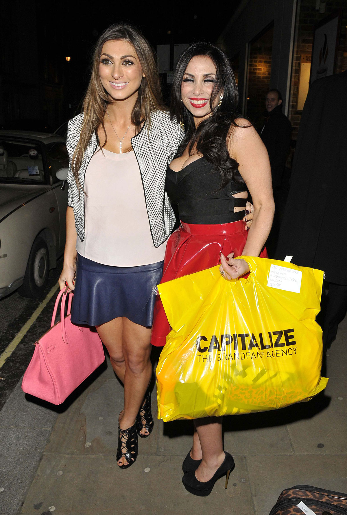 Luisa Zissman attends Total Minks Launch Party