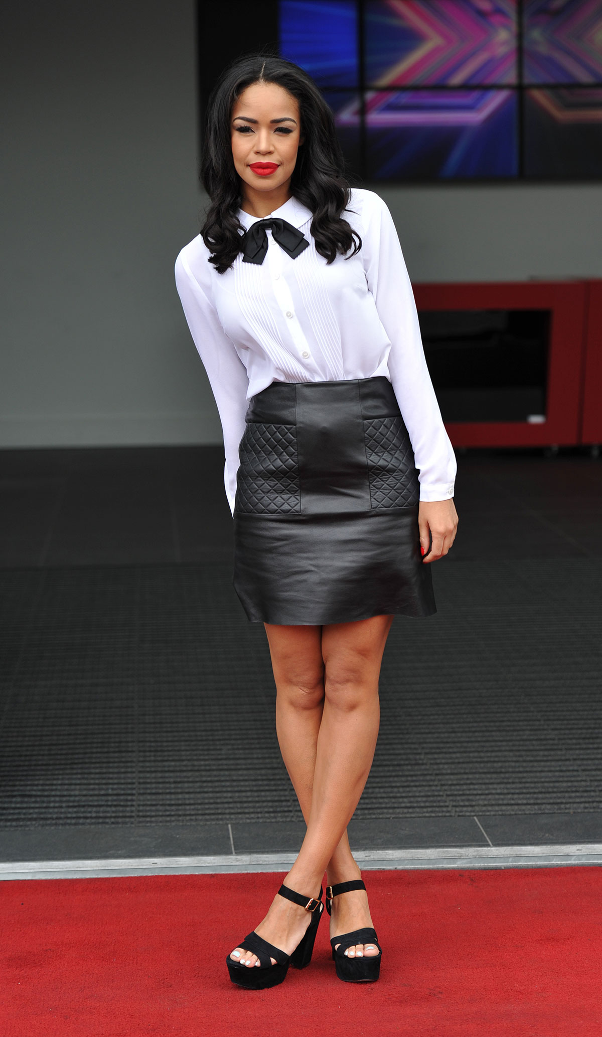 Sarah-Jane Crawford at X Factor auditions