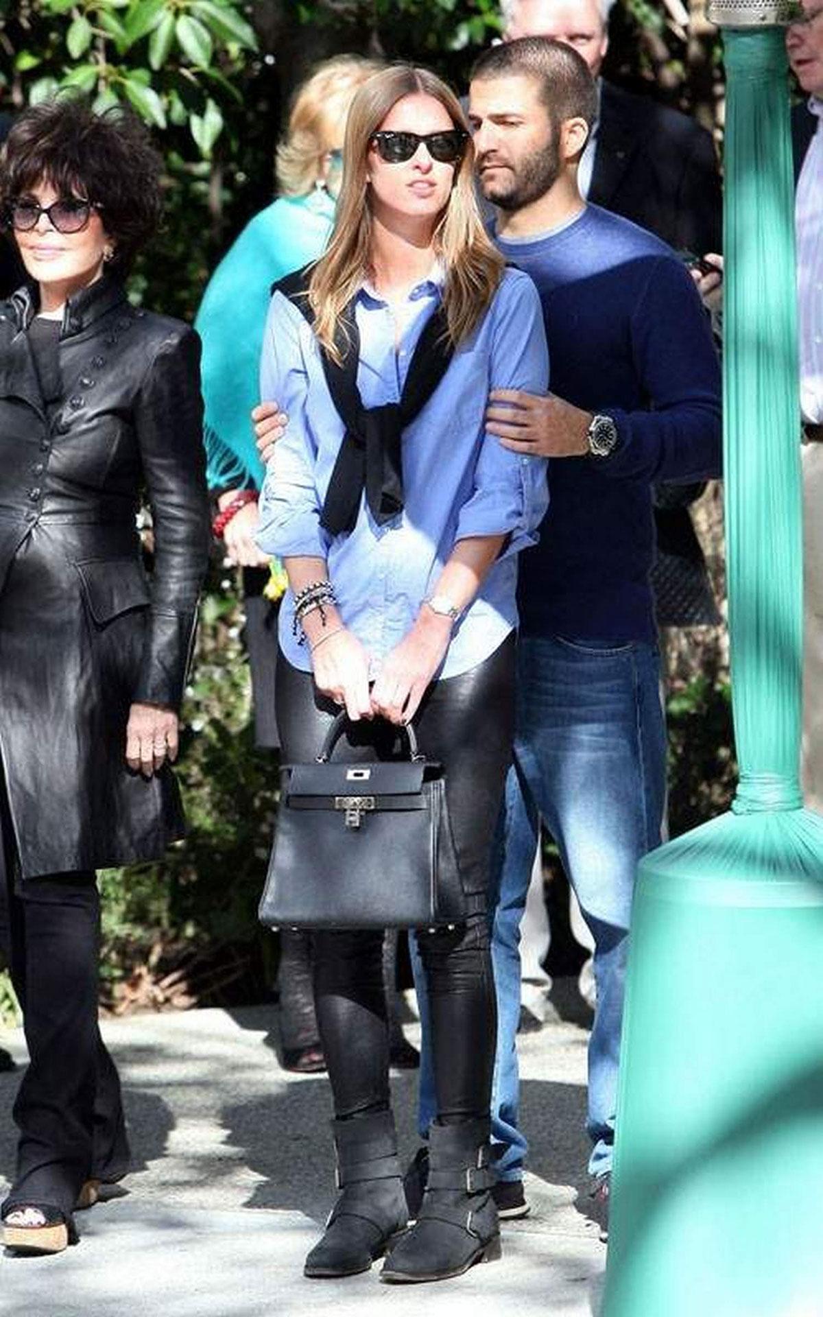 Nicky Hilton arrives at the Pre-Oscar Party