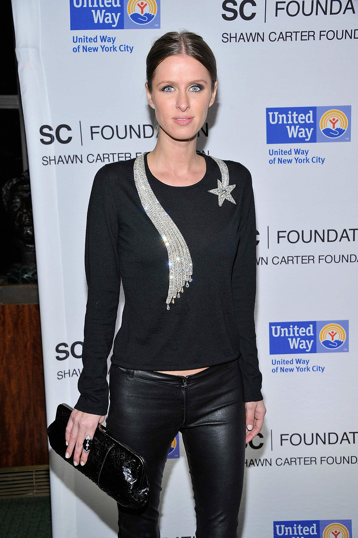 Nicky Hilton attends United Way of New York City and the Shawn Carter Foundation