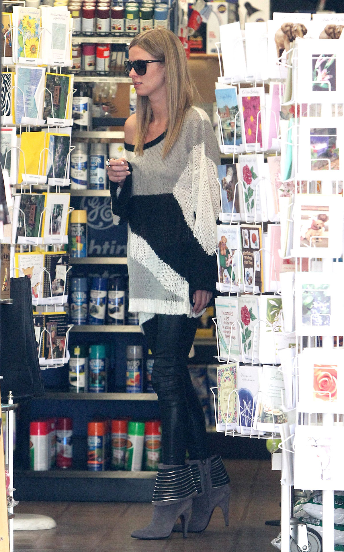Nicky Hilton shopping in Beverly Hills