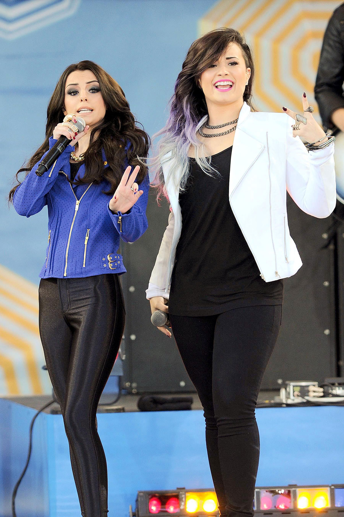 Cher Lloyd at Good Morning America