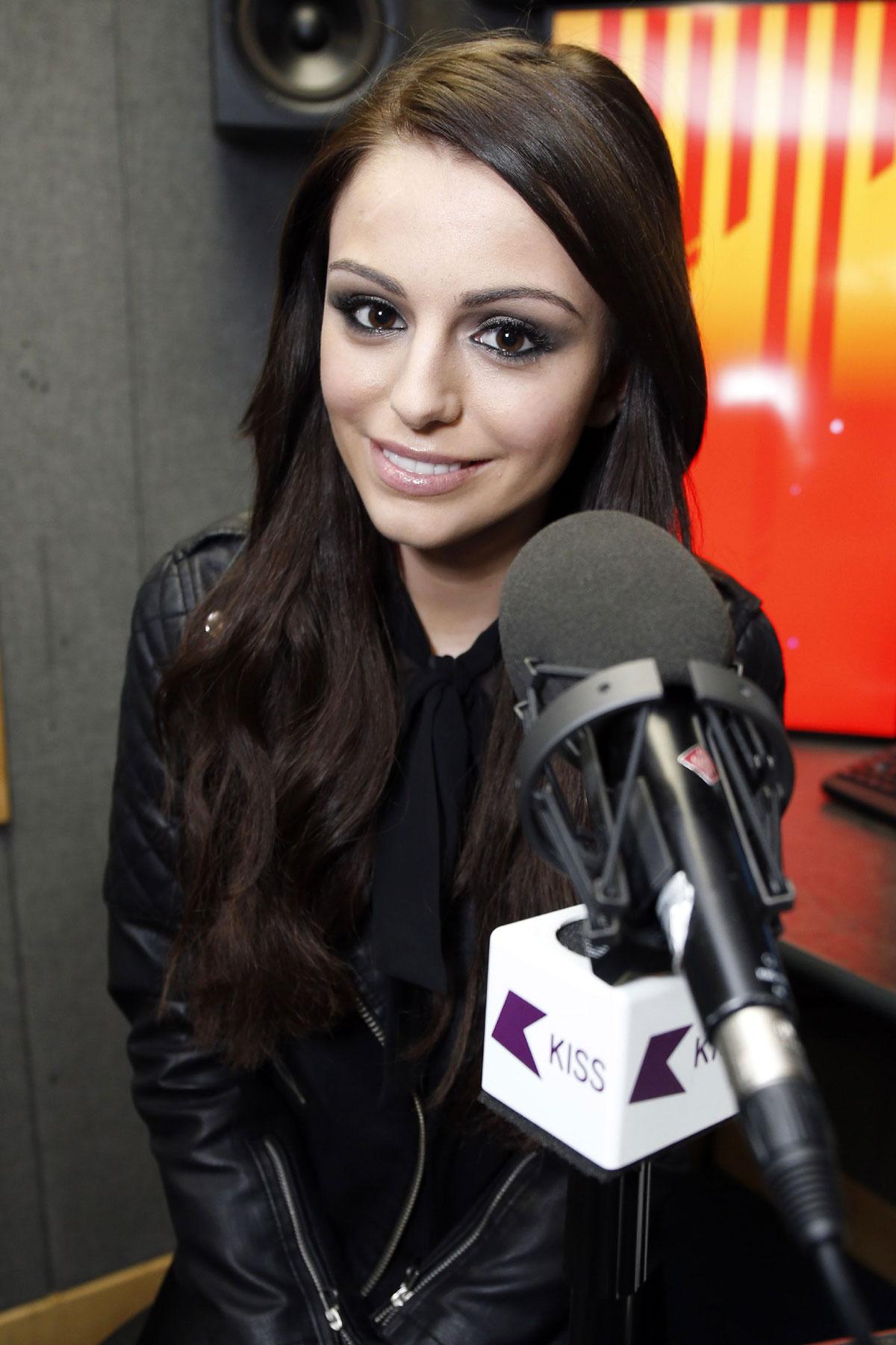 Cher Lloyd at KISS FM Radio Station