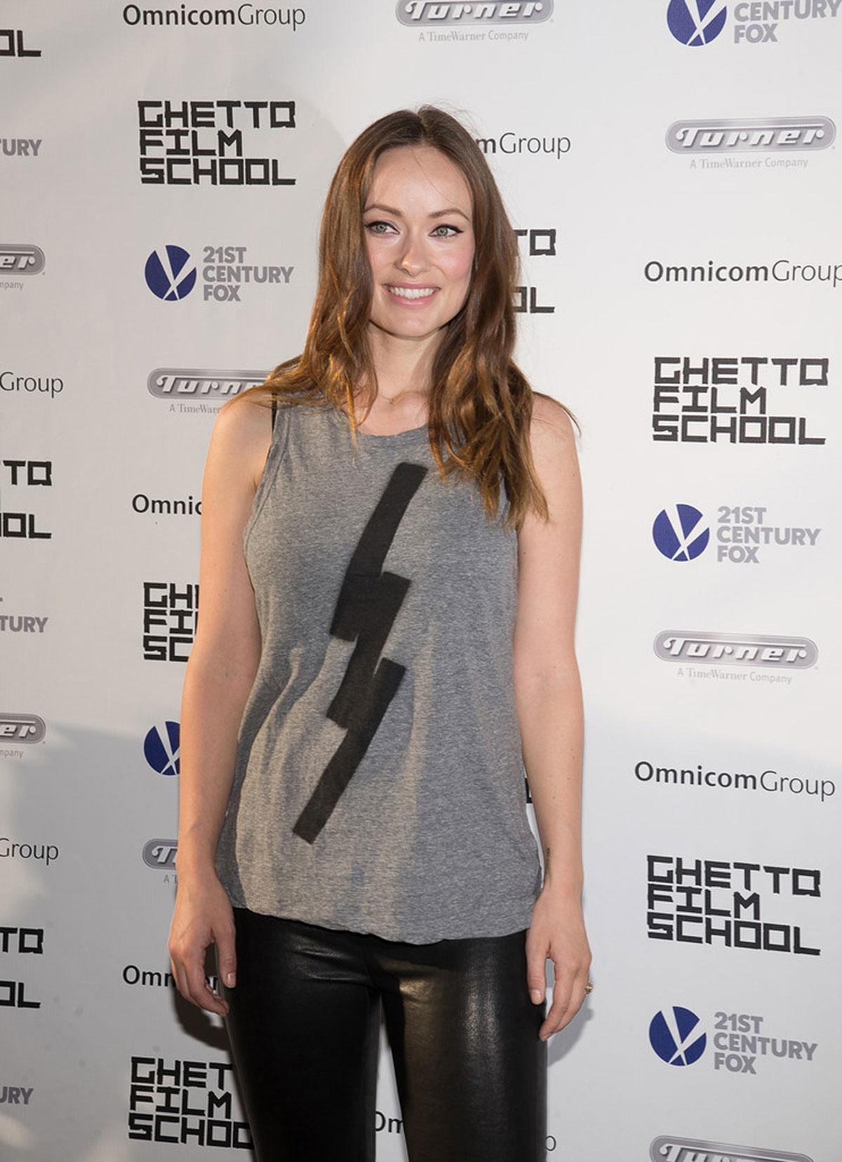 Olivia Wilde attends Ghetto Film School 10th Annual Spring Benefit