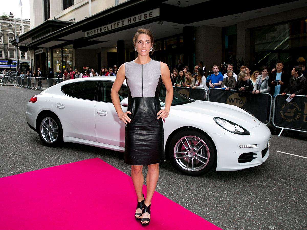 Andrea Petkovic attends the WTA Pre-Wimbledon Party