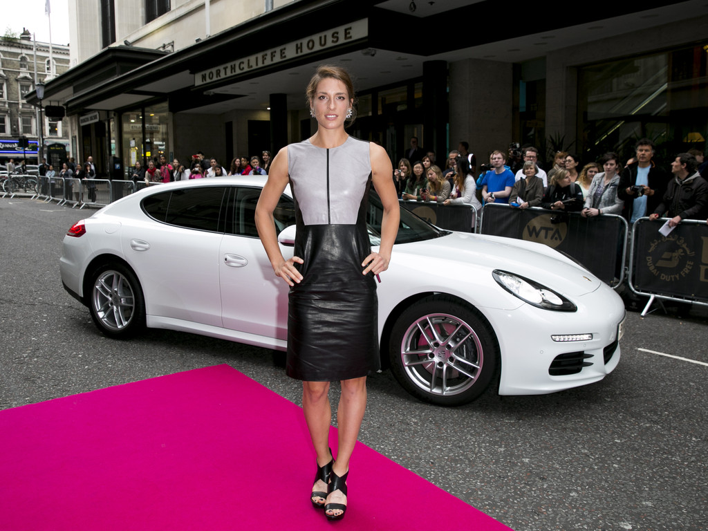 Andrea Petkovic attends the WTA Pre-Wimbledon Party