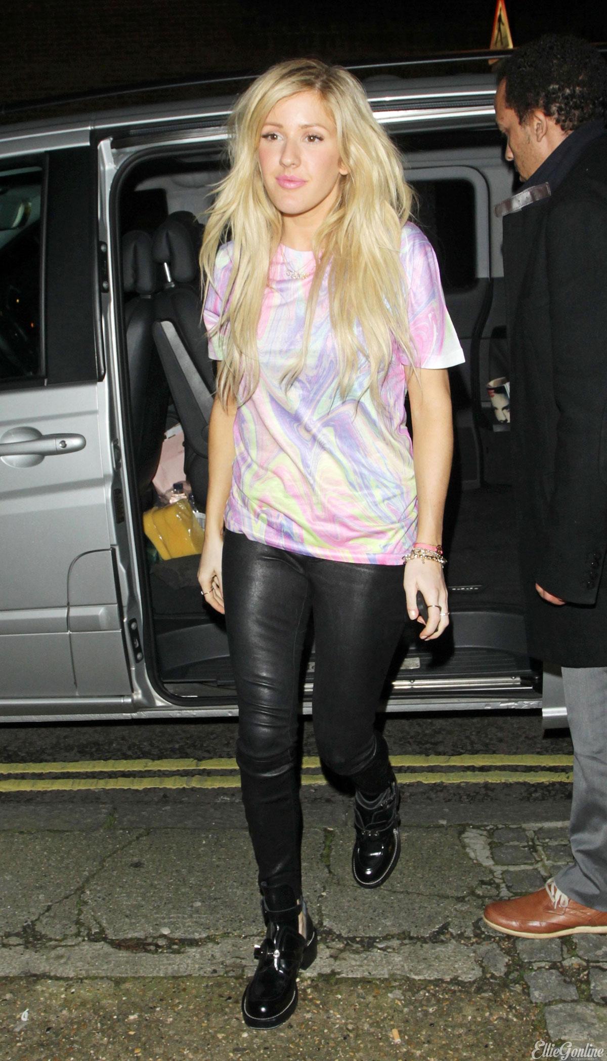 Ellie Goulding at BBC Radio 1 Studios