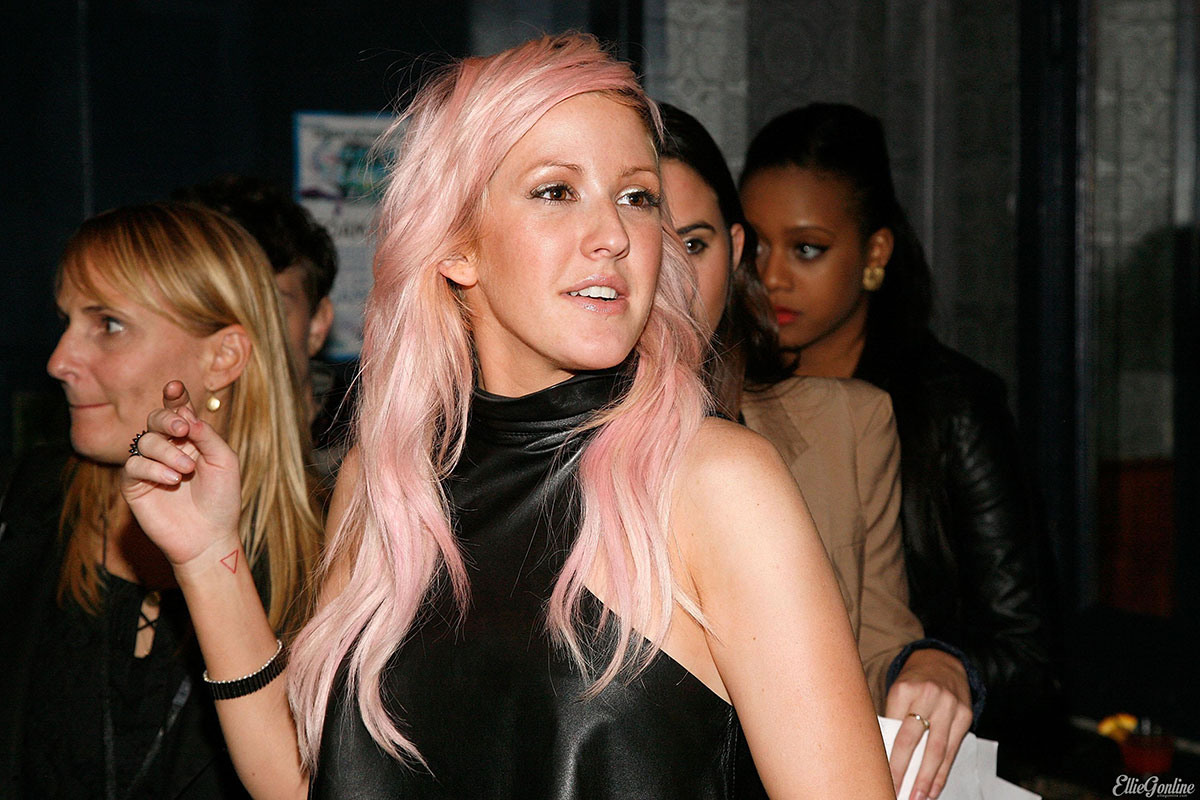 Ellie Goulding attends Paper Magazine's 8th Anual Nightlife Awards