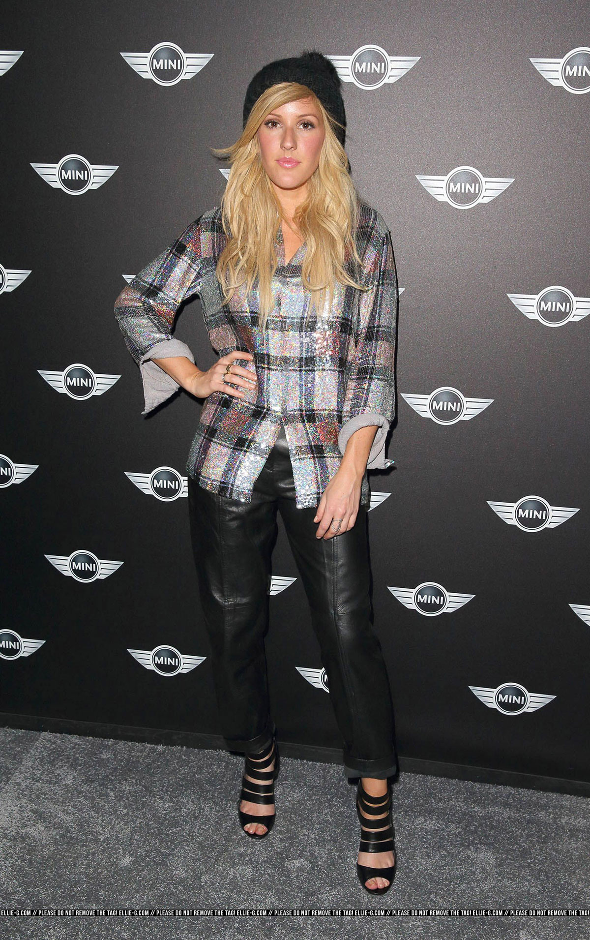 Ellie Goulding attends World Premiere of the new MINI
