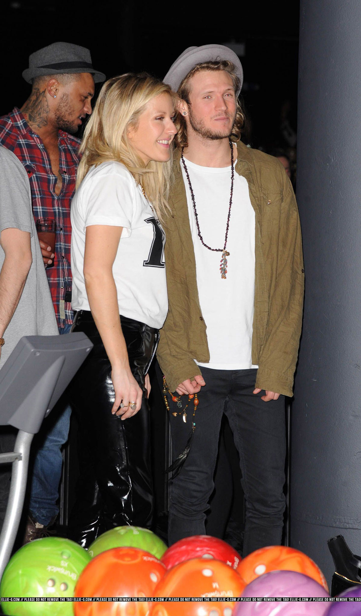 Ellie Goulding attends Launch party for Brooklyn Bowl