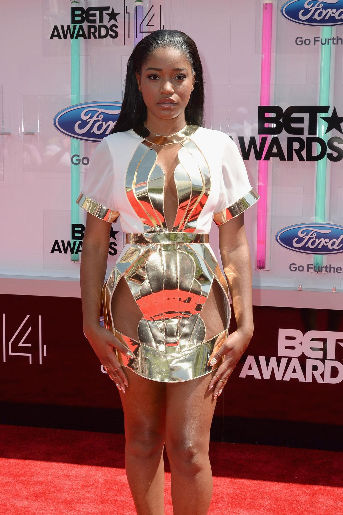 Keke Palmer at the 2014 BET Awards