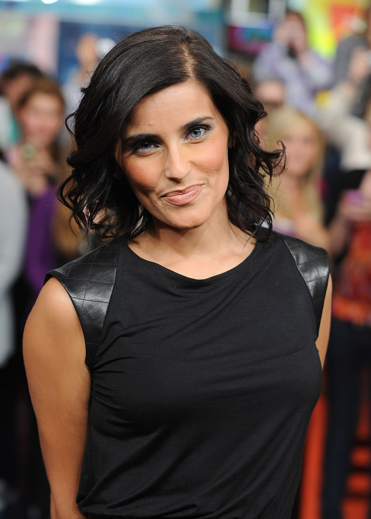 Nelly Furtado appearing on the Canadian TV show Much On Demand