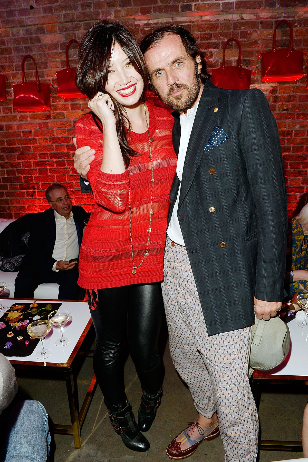 Daisy Lowe at Virgin Atlantic's New Vivienne Westwood Uniform Collection