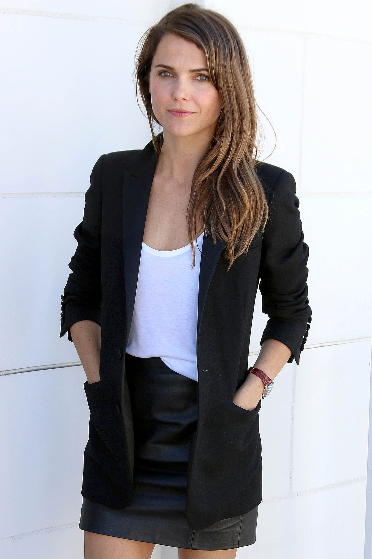 Keri Russell attends Dawn Of The Planet Of The Apes press conference