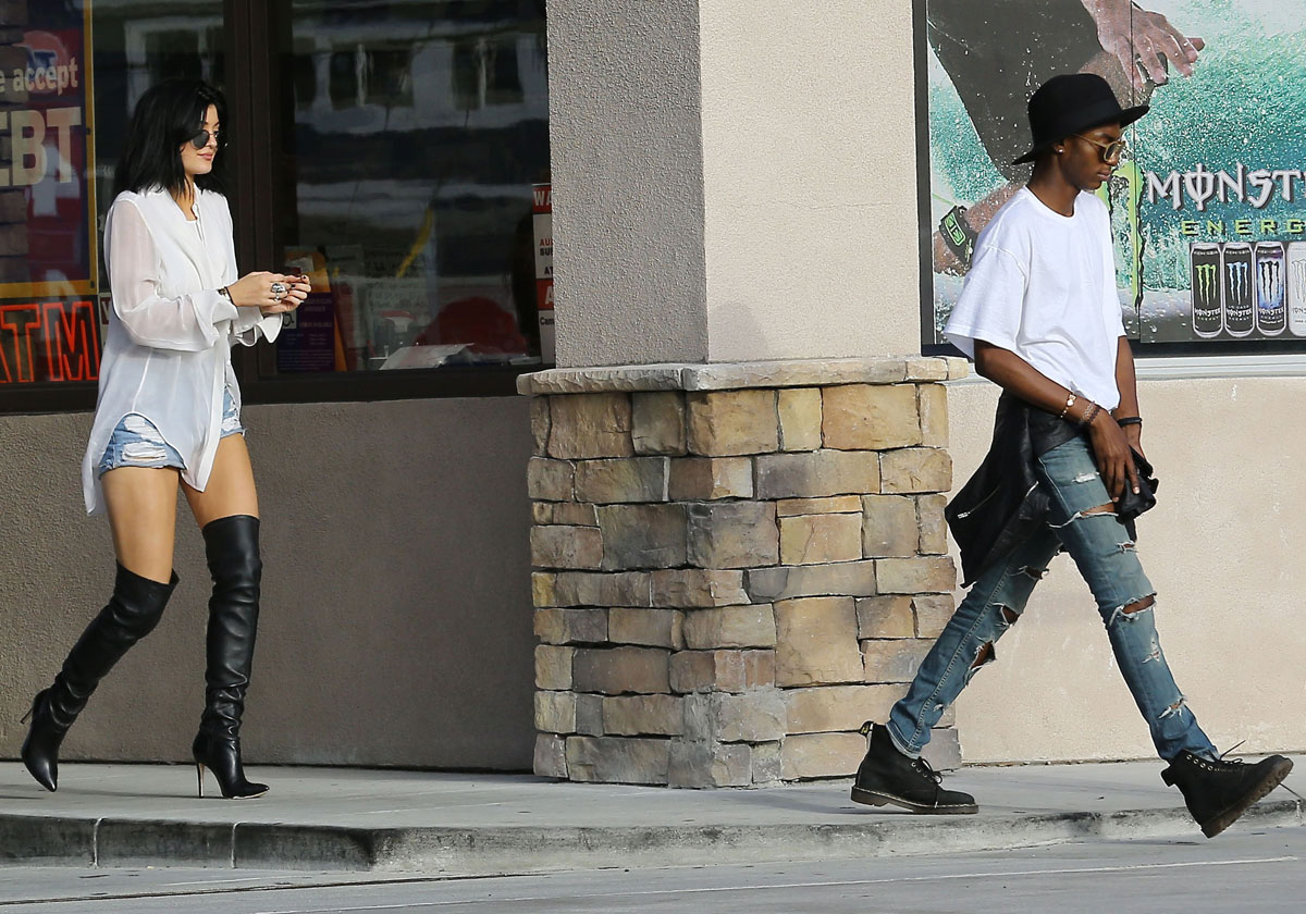 Kylie Jenner out in Malibu