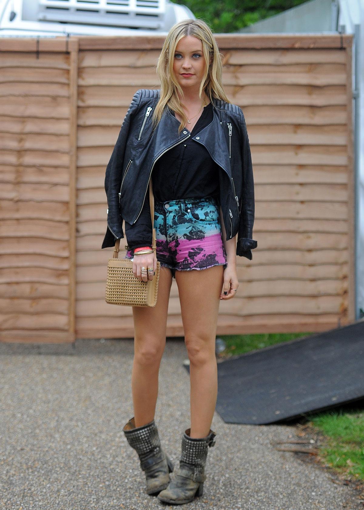 Laura Whitmore attends Wireless Festival