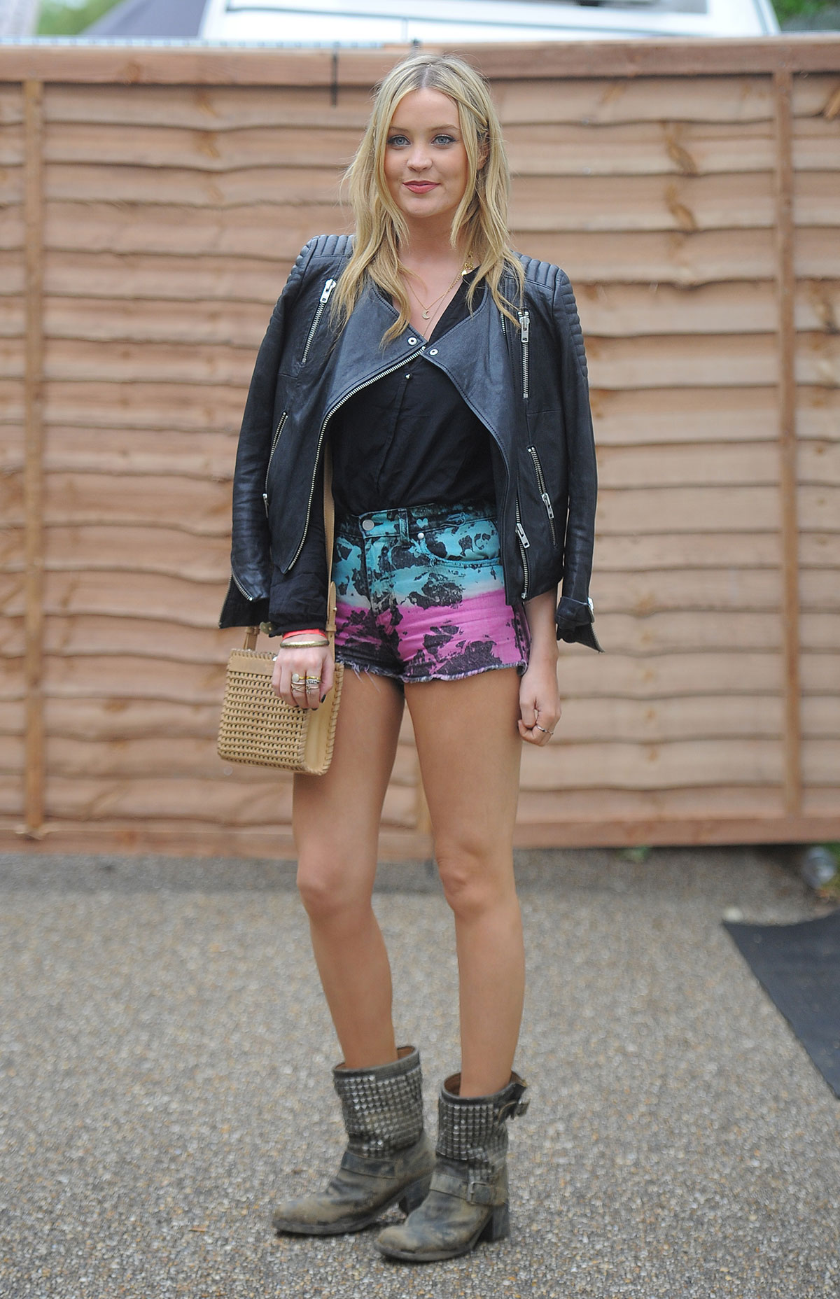 Laura Whitmore attends Wireless Festival