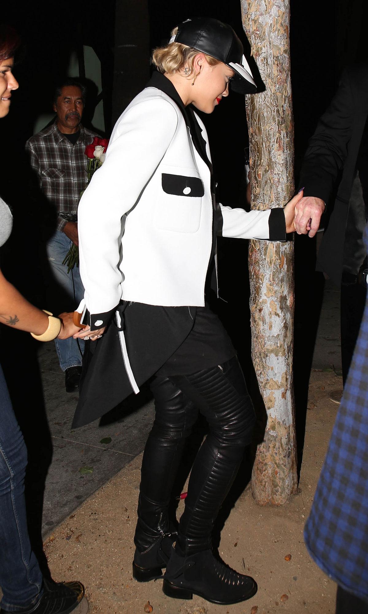 Rita Ora arriving at LAX airport