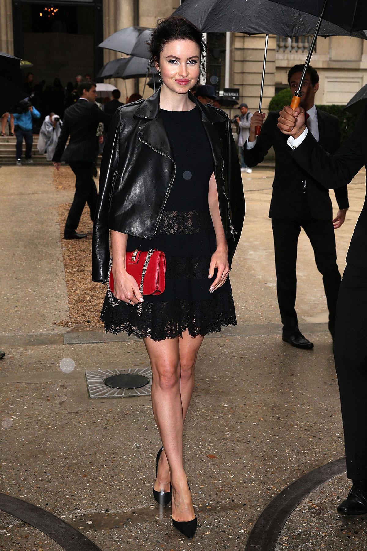 Emma Miller attends Valentino show