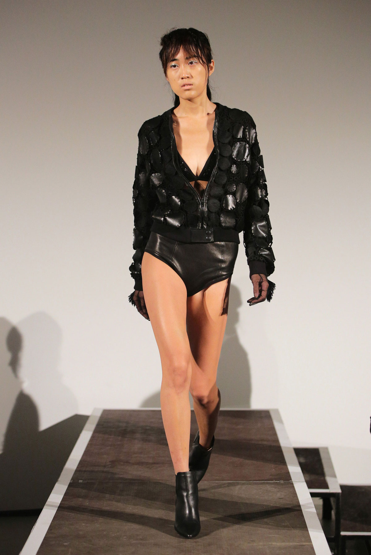 Models at Mercedes-Benz Fashion Week Spring Summer 2015 - part 2