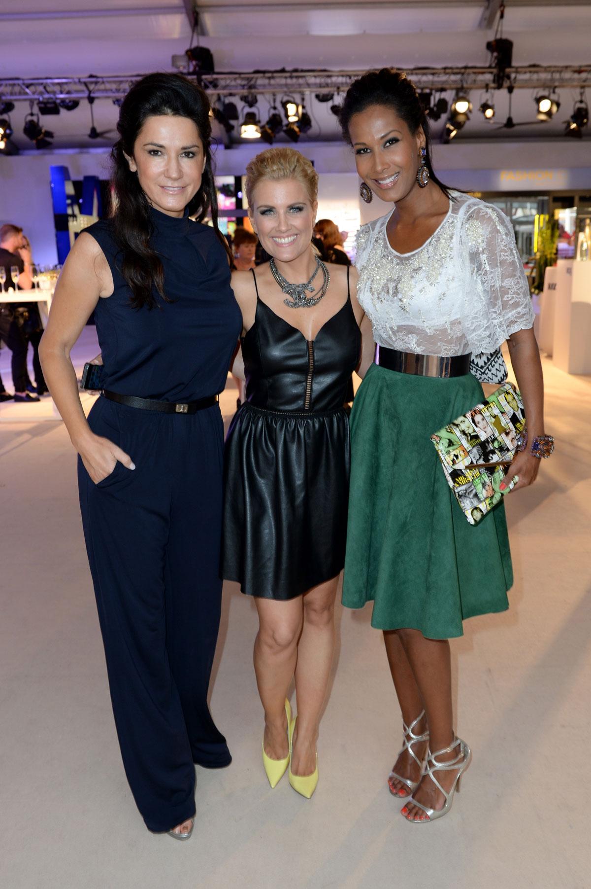 German celebs attend Mercedes-Benz Fashion Week Spring Summer 2015 - part 2