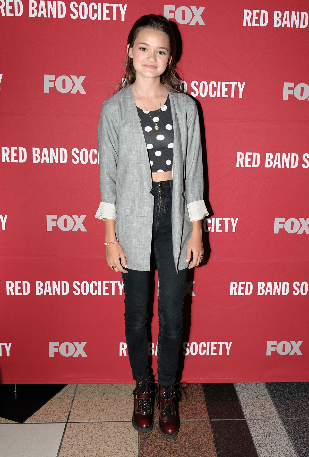 Rebecca Rittenhouse attends the Red Band Society screening