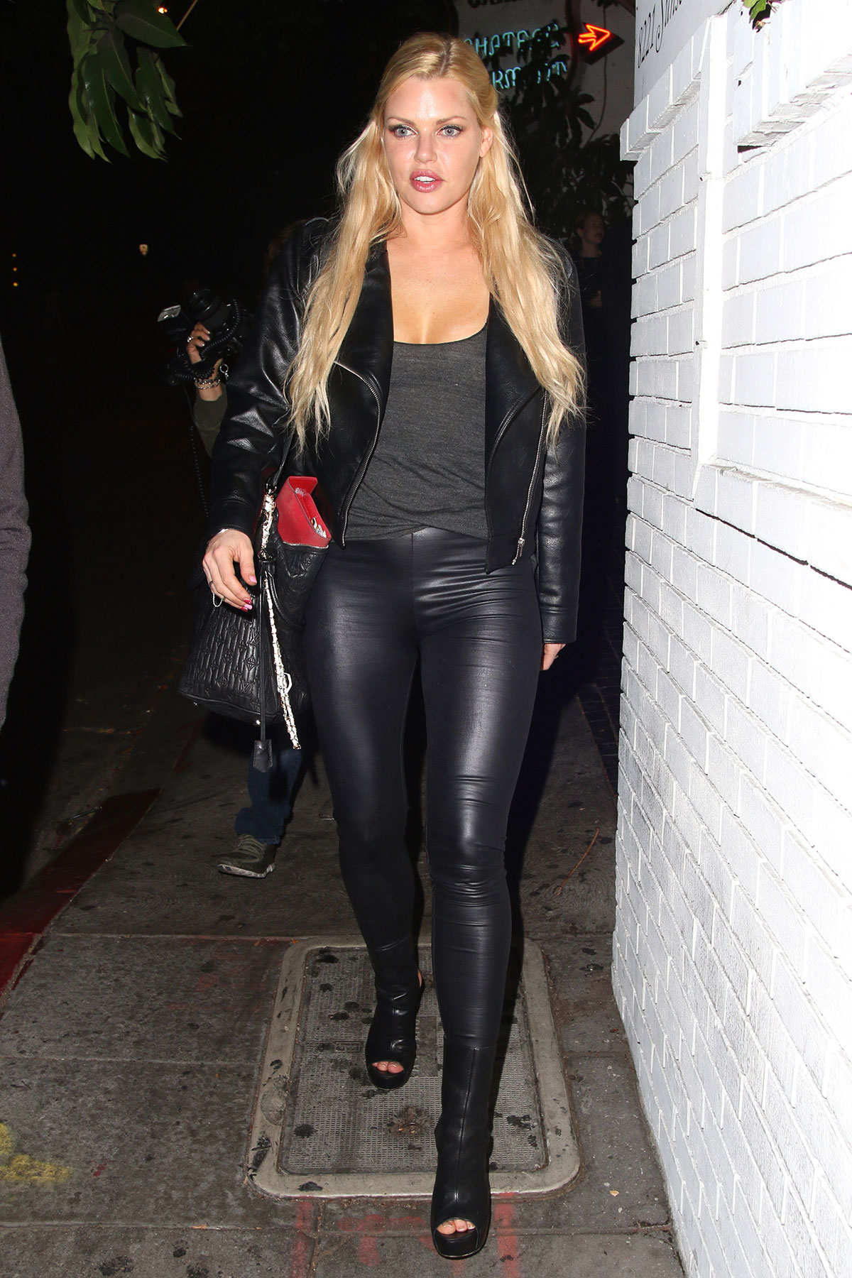 Sophie Monk leaving Chateau Marmont
