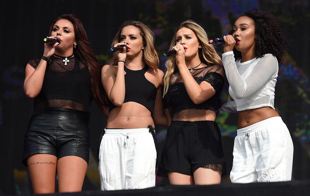 Little Mix perform British Summer Time Festival