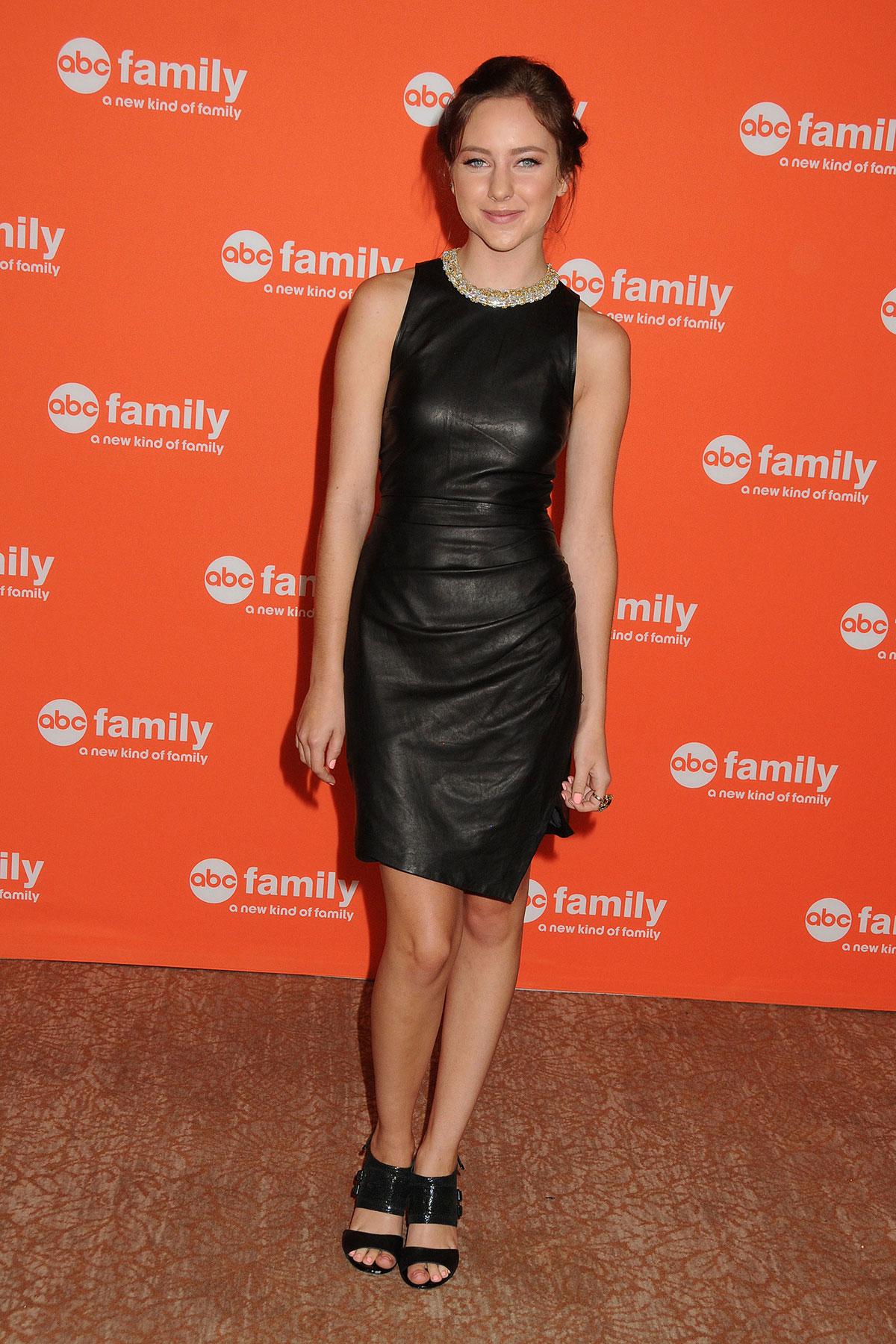 Haley Ramm attends Disney ABC TCA Summer Press Tour