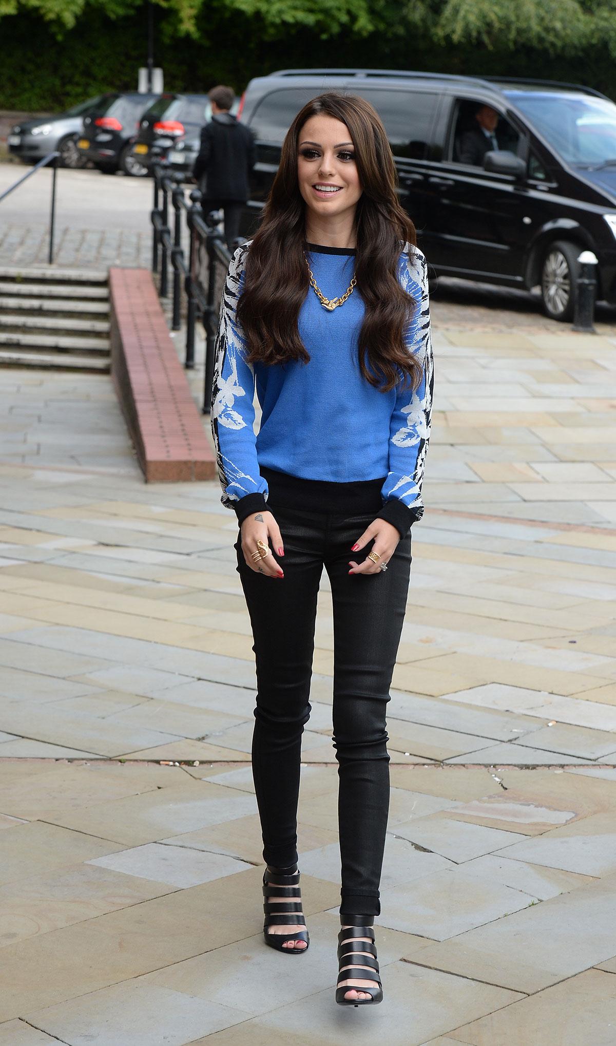 Cher Lloyd arrives at Key 103 Radio Station