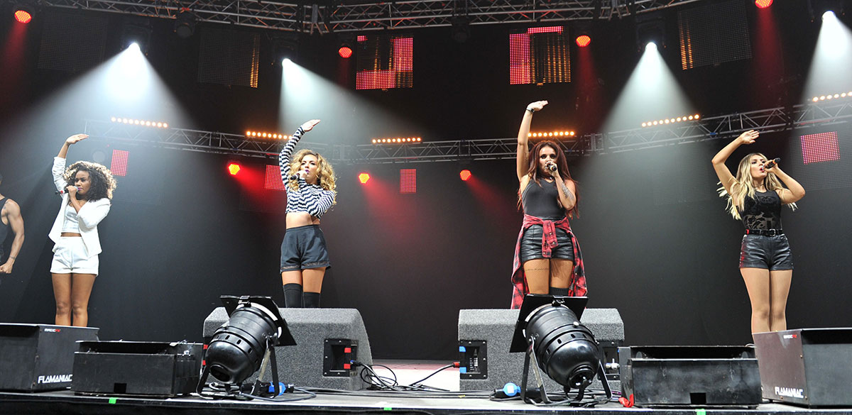 Little Mix perform at Key 103 Summer Live