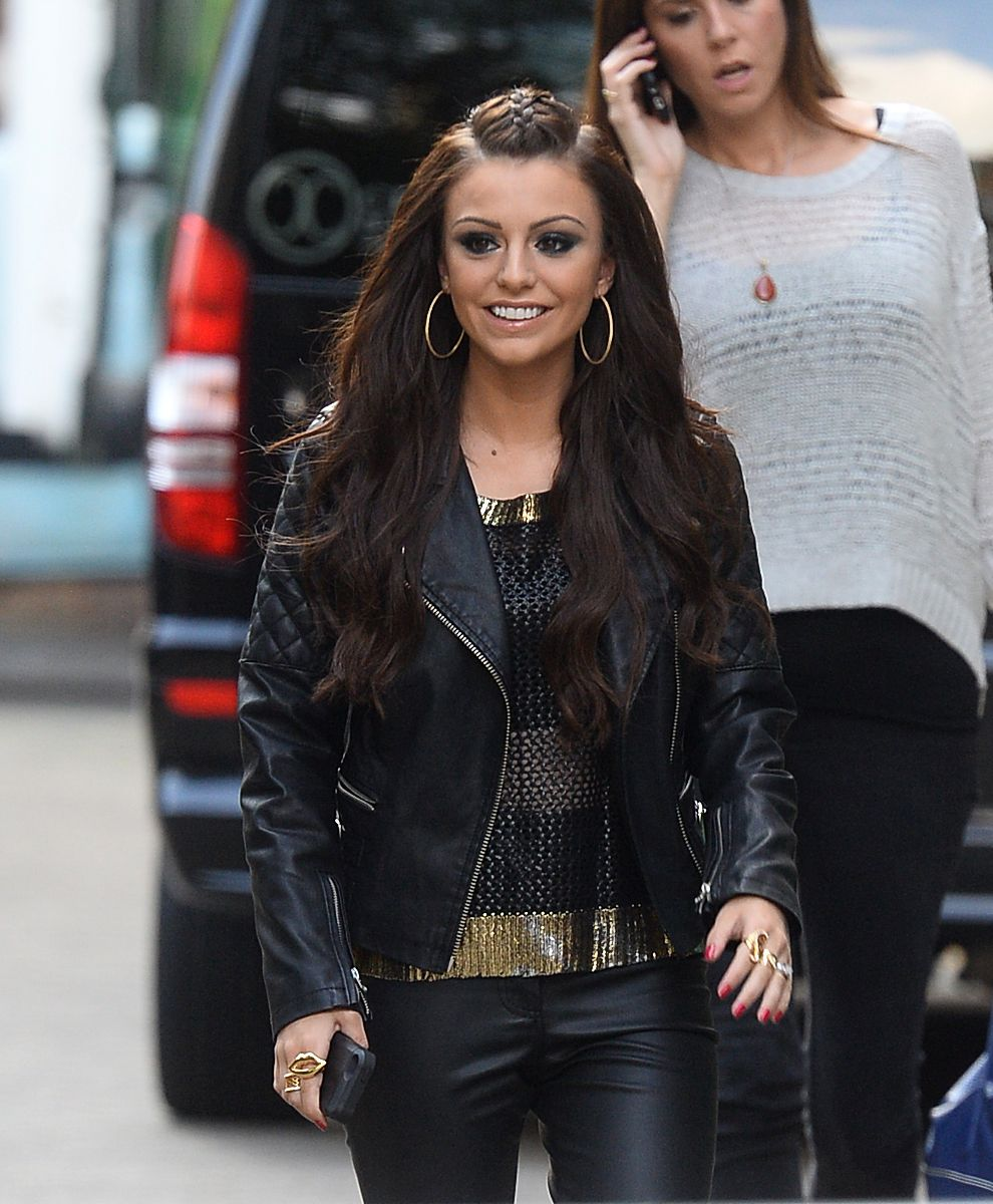 Cher Lloyd seen arriving at SONY HQ for her album listening party
