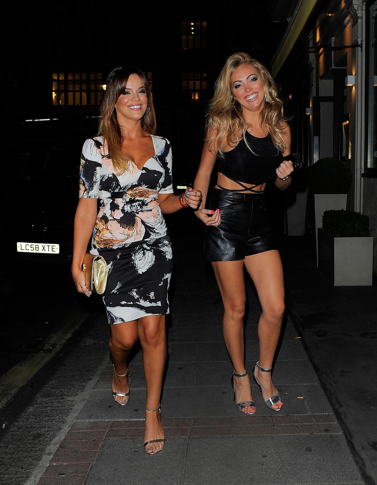 Maria Fowler & Aisleyne Horgan-Wallace at The Mayfair Hotel