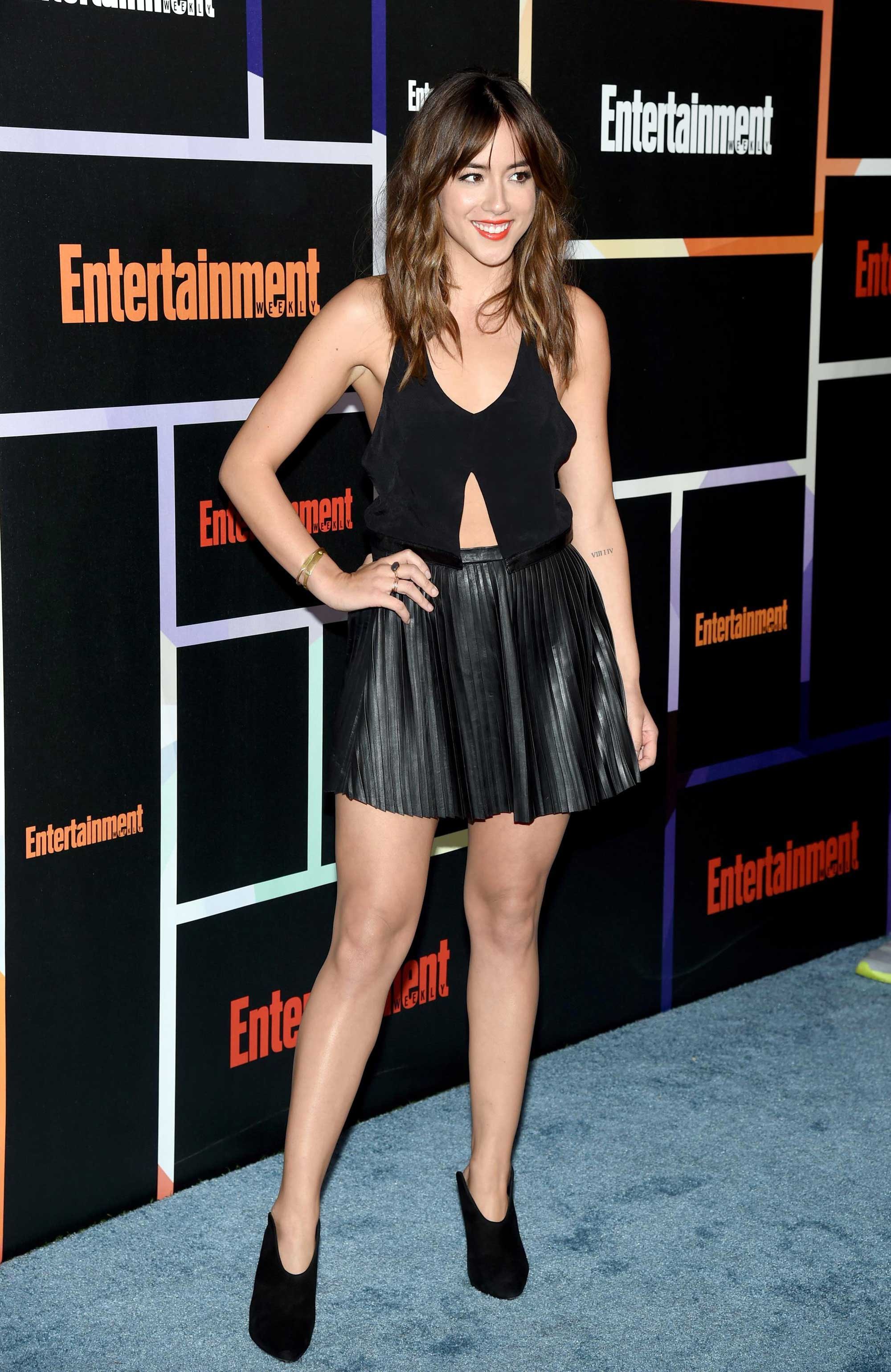 Chloe Bennet attends Entertainment Weekly's Annual Comic-Con