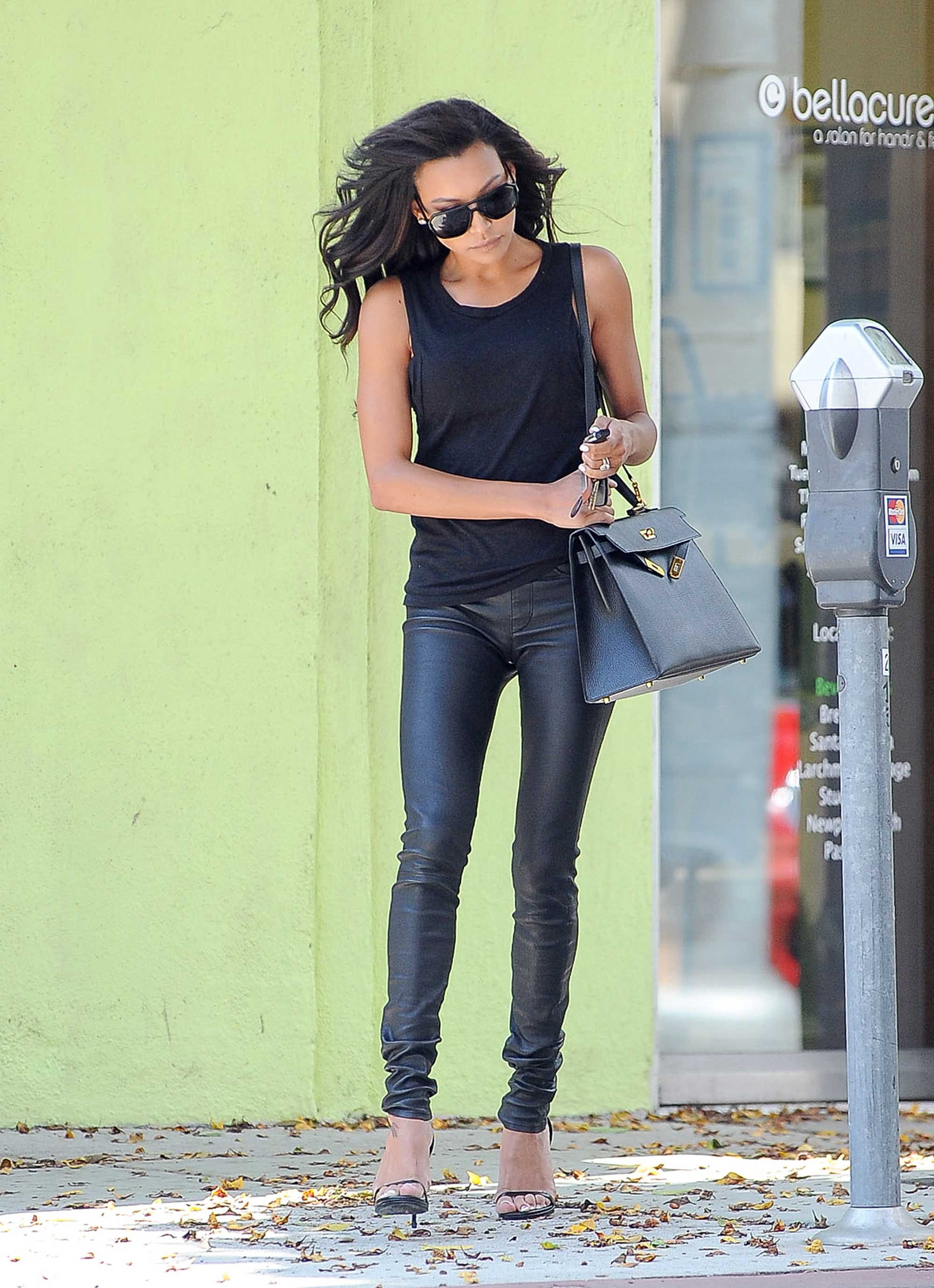 Naya Rivera running errands in West Hollywood
