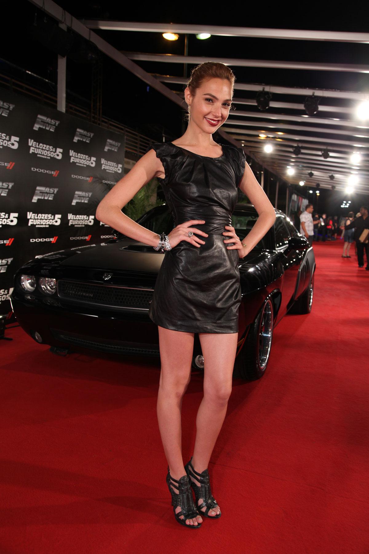 Gal Gadot attends Fast 5 World Premiere