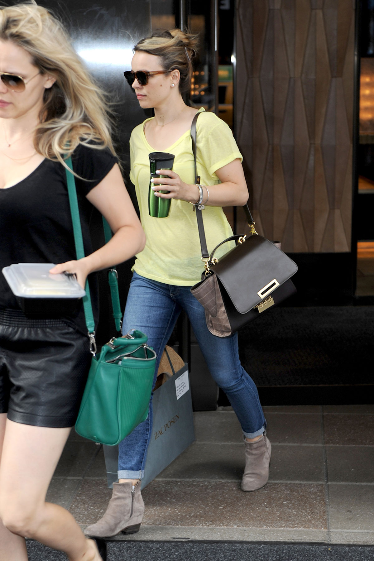 Rachel McAdams out and about candids in NYC