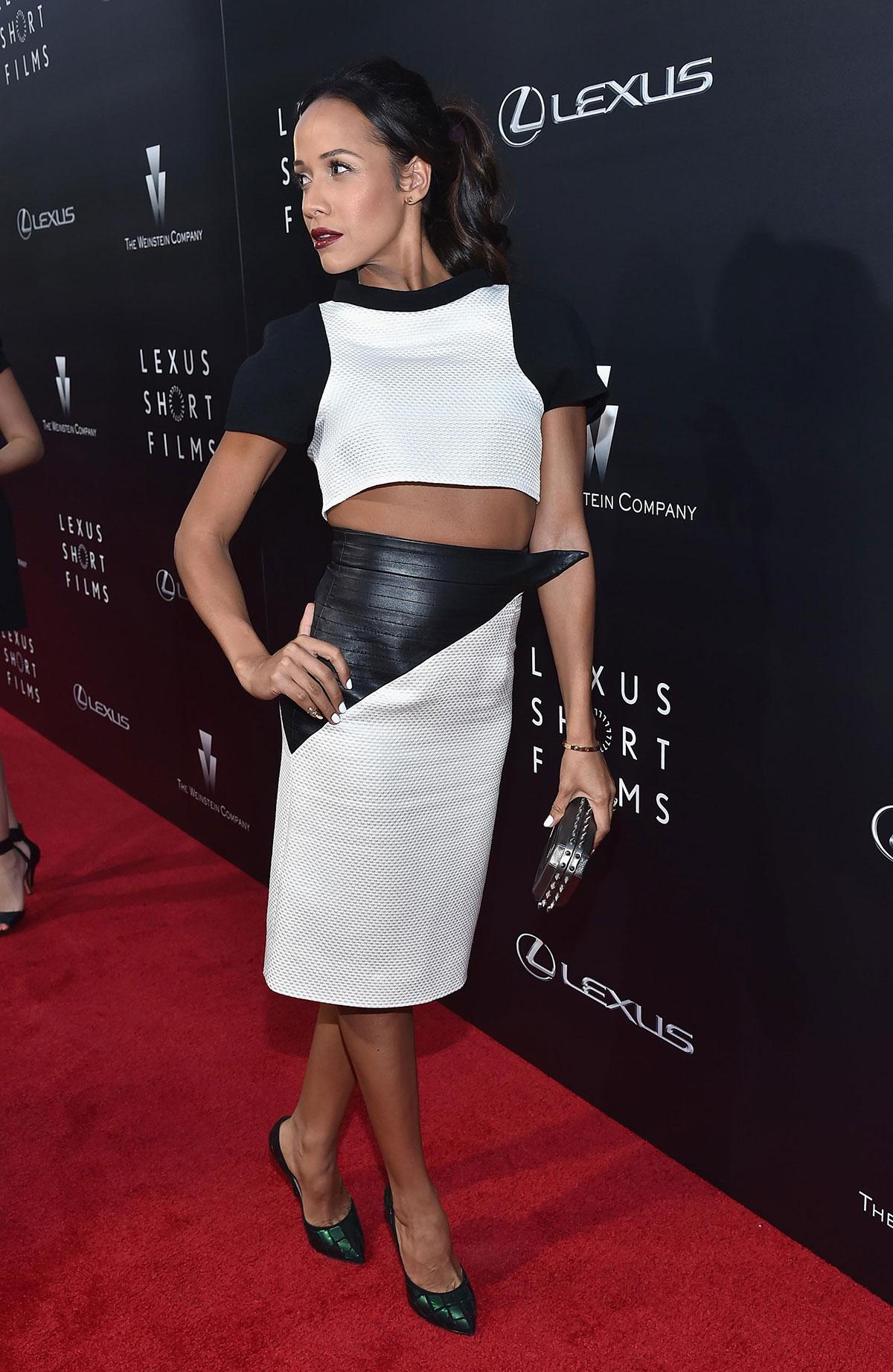 Dania Ramirez attends 2nd annual Lexus Short Films Life Is Amazing