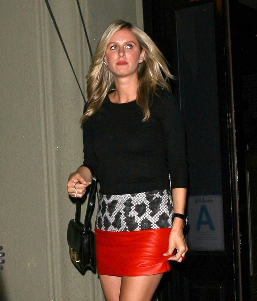 Nicky Hilton and a friend dine out at Craig's Restaurant