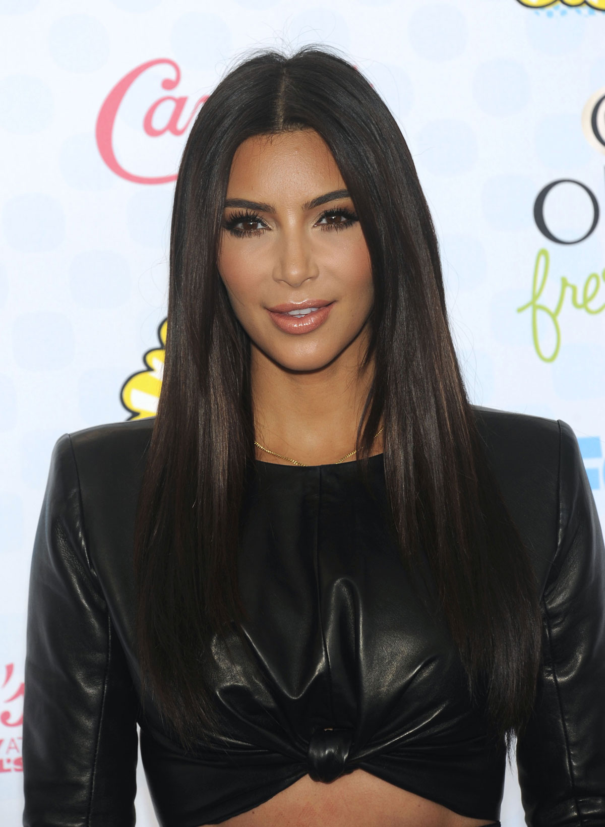 Kim Kardashian attends FOX 2014 Teen Choice Awards